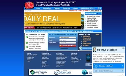 Smart Traveler website