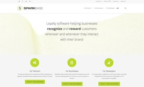 SparkBase website