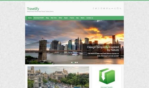 Travelify Theme