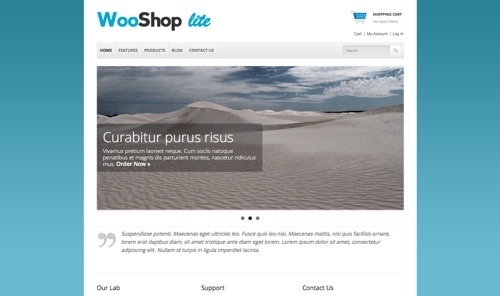 WooShop Lite Theme