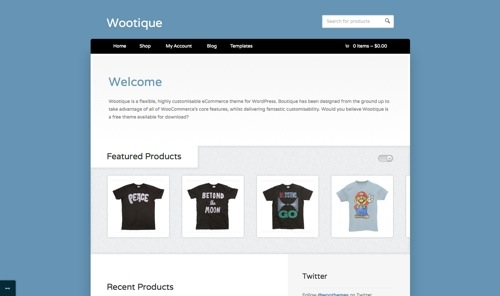 Wootique Theme