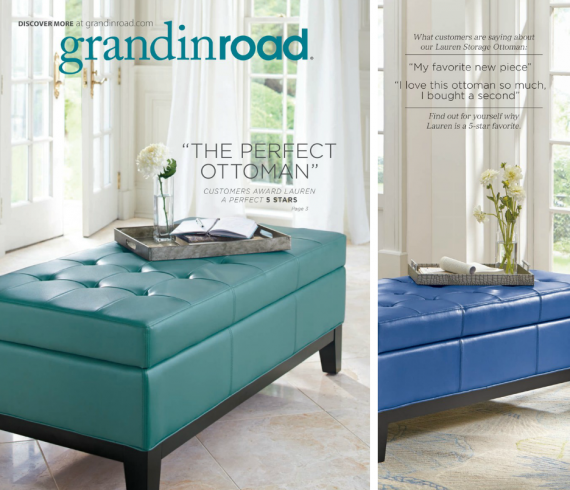 Grandin Road Catalog Feb. 2014