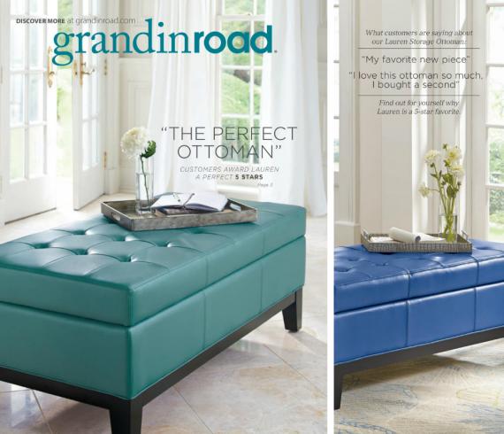 Grandin Road Catalog Feb. 2014