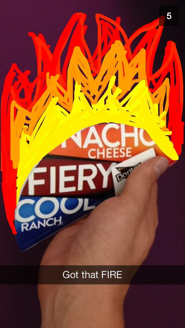 Snapchat Taco Bell