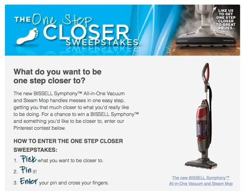 BISSELL's Contest