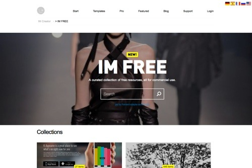 IM Free website