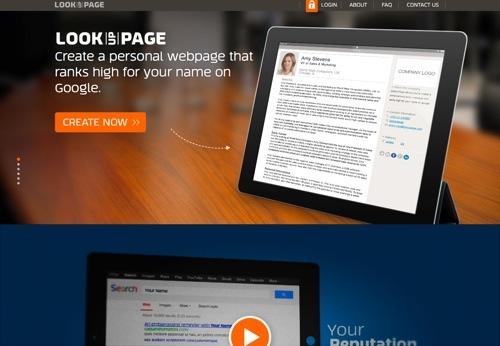 LookUpPage website