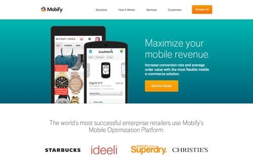 Mobify website