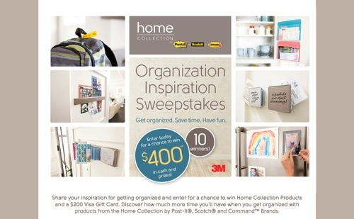 3M Home Collection's Contest