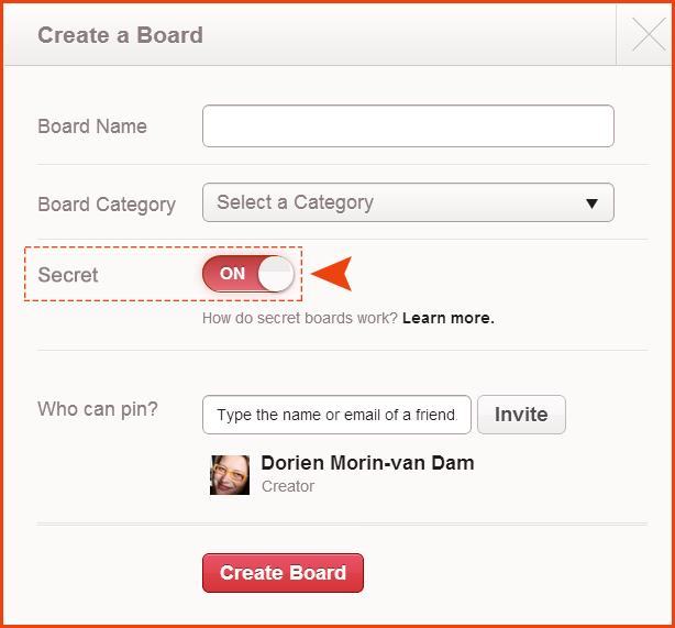 """""""Secret"""" board option."""