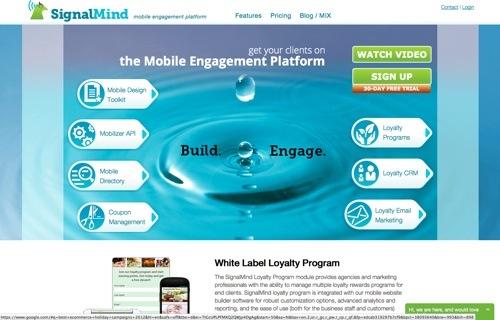 SignalMind website
