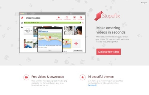 Stupeflix website