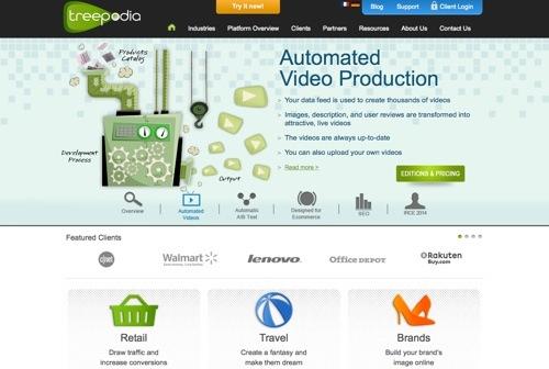 Treepodia website