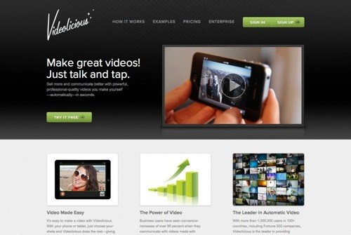Videolicious website