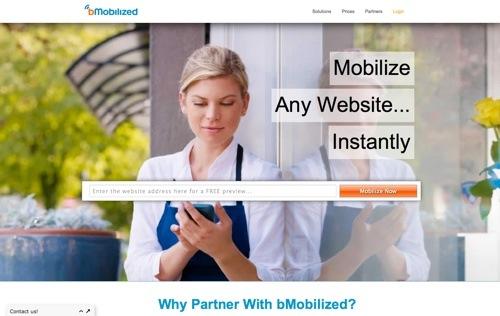 bMobilized website