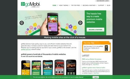 goMobi website