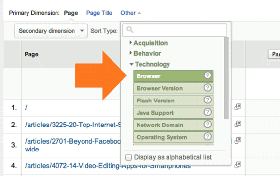 There are many dimensions to review in the Page Timings section, so don't be afraid to explore.