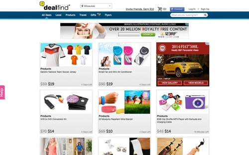 Dealfind website