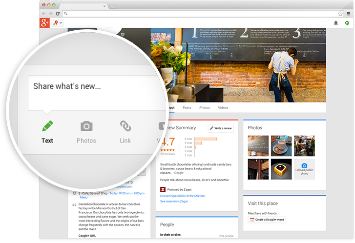 Google has combined Google Places and Google+ Local into a single product called Google My Business.