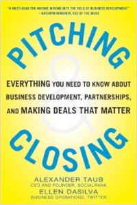 Pitching & Closing book
