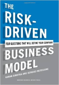 The Risk-Driven Business Model book