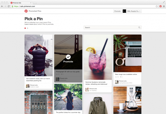Pinterest launched a do-it-yourself version of Promoted Pins.