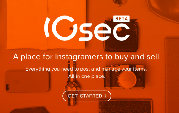 10sec is an online marketplace where Instagram users can buy and sell merchandise.