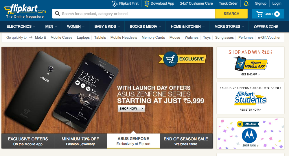 Flipkart is now a marketplace, allowing other merchants to sell on its platform.