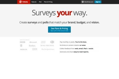 Polldaddy website
