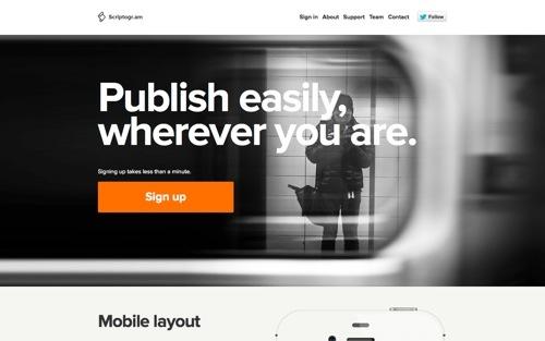 Scriptogr.am website