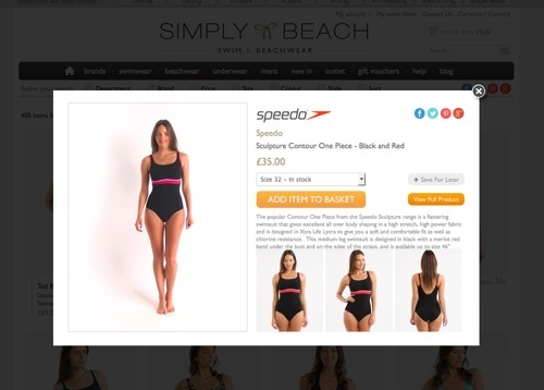 Simply Beach product video.