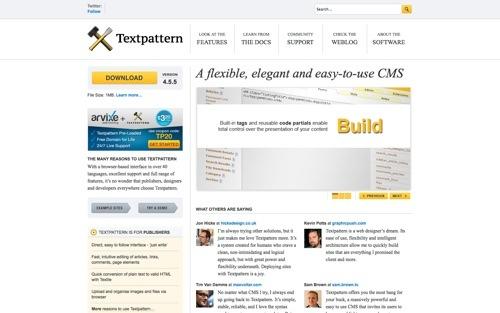 Textpattern website