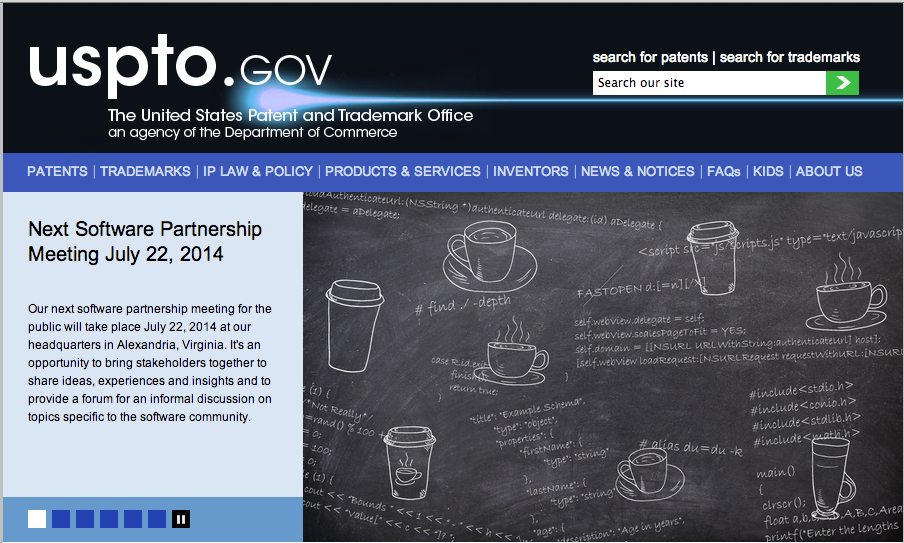Search at USPTO.gov to determine availability of a trademark.