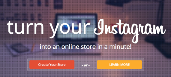 InstaOrders turns your Instagram account into an online store.