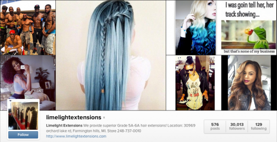 9 ecommerce businesses using instagram for sales practical ecommerce limelight extensions pmusecretfo Image collections