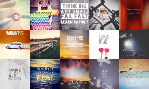 Overgram places text and artwork over Instagram photos.