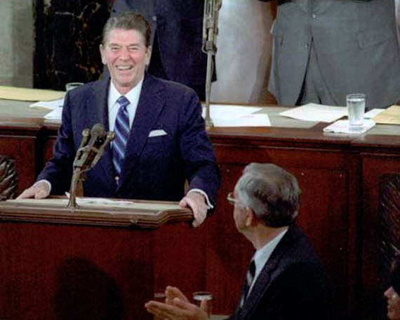 President Reagan's August 11 joke launched a holiday.