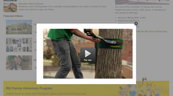 REI includes a number of helpful and informative videos on its site, including one about slacklining.