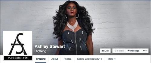 Ashley Stewart on Facebook