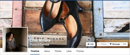 Chie Mihara on Facebook