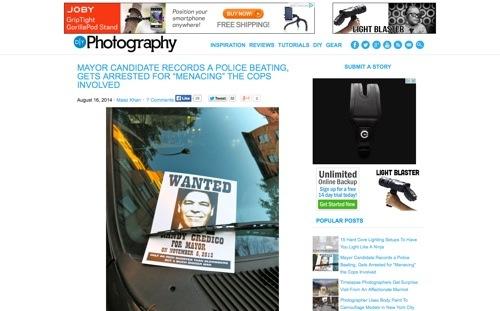 DIY Photography website
