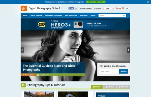 Digital Photography School website