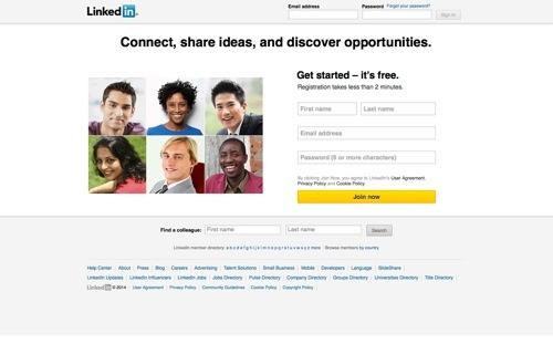 LinkedIn website