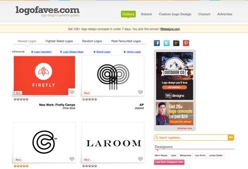 Logo Faves website