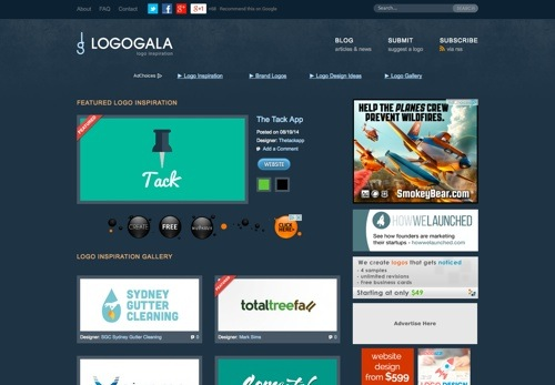 LogoGala website