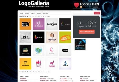 LogoGalleria website