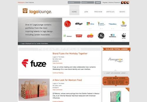 LogoLounge website