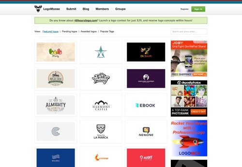 LogoMoose website