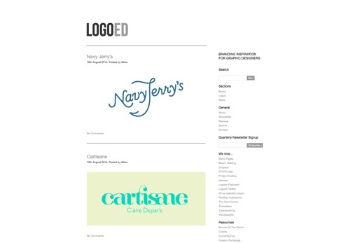 Logoed website