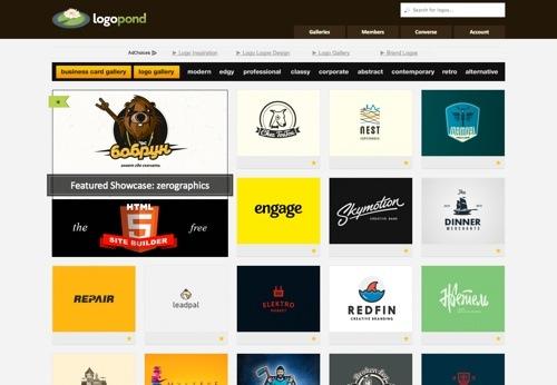 Logopond website